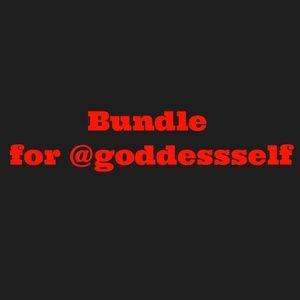 Tops - Bundle for @goddessself